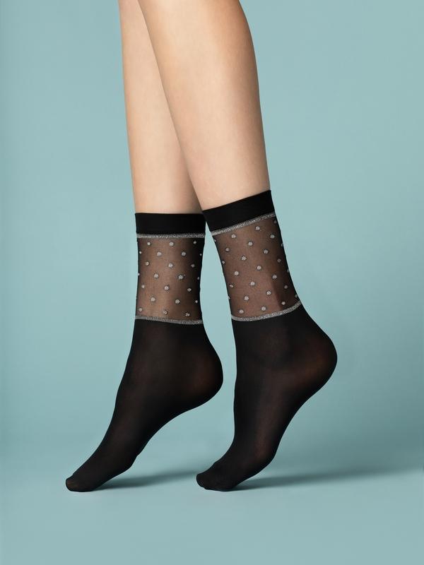 Punčochové ponožky Fiore Prima Neve